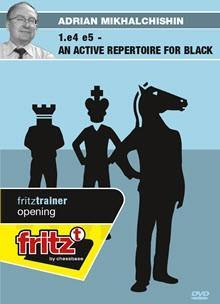 1.e4 e5 an active Repertoire for Black - Mikhalchishin - Software DVD - Chess-House