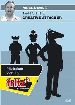 1.e4 For The Creative Attacker - Davies - Software DVD - Chess-House
