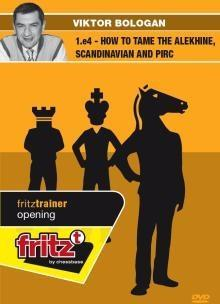 1.e4 How to tame the Alekhine, Scandinavian and pirc! - Bologan - Software DVD - Chess-House