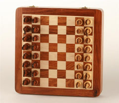 "10"" Isle of Lewis Chess Set in Storage Board - Chess Set - Chess-House"
