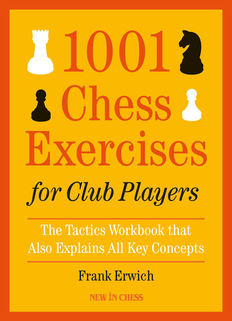 1001 Chess Exercises Club Players - Erwich