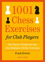 1001 Chess Exercises Club Players - Erwich - Book - Chess-House