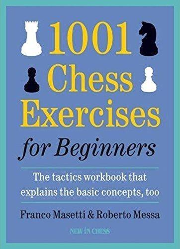 1001 Chess Exercises for Beginners - Masetti - Book - Chess-House