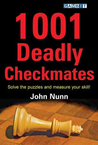 1001 Deadly Checkmates - Nunn - Book - Chess-House