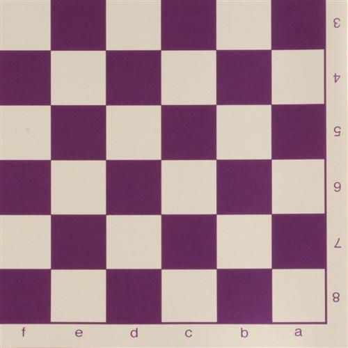 12 inch Analysis Size Vinyl Roll-up Chessboard - Chess Boards