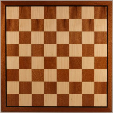 15 3/4 inch Sapele & Maple Veneer Board - Board - Chess-House