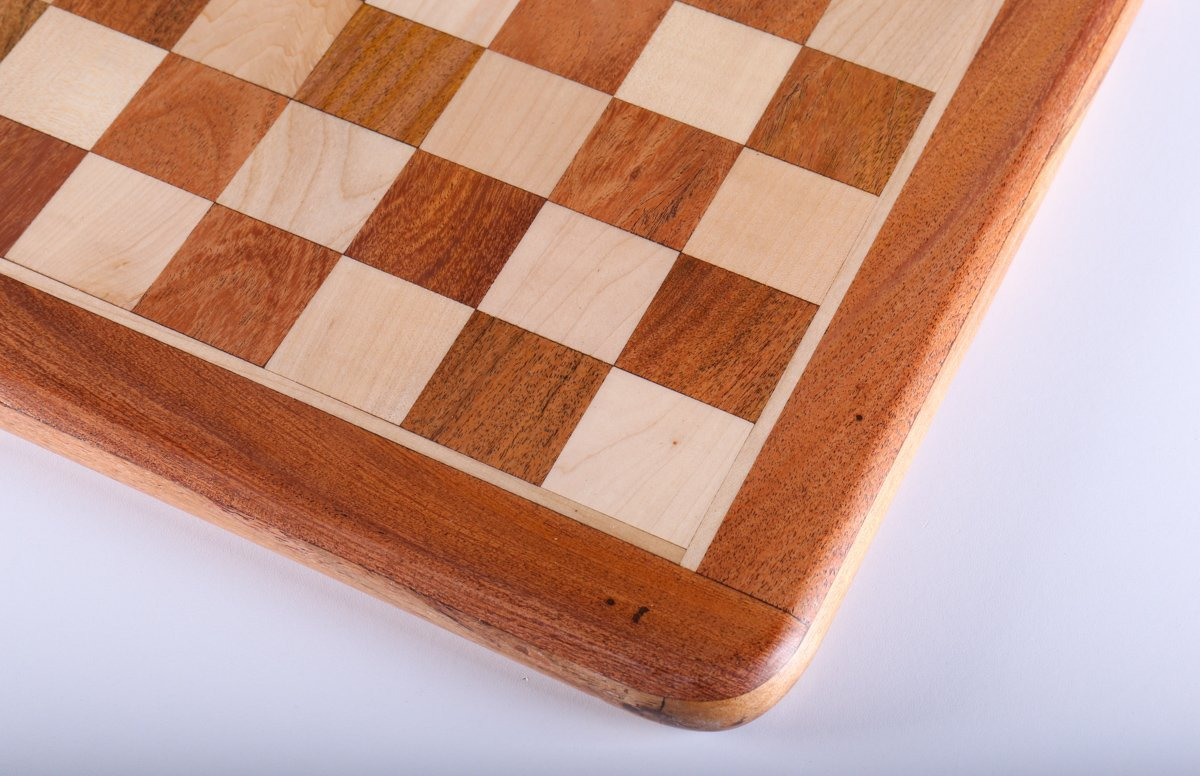 15 inch Acacia Chess Board - Chess Boards