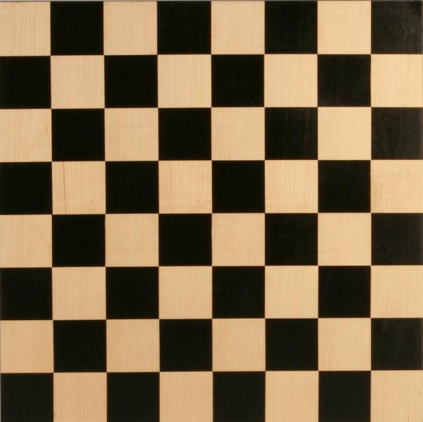 "15"" Black & Maple Basic Board - Board - Chess-House"
