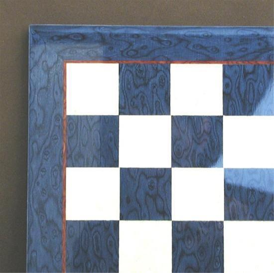 "15"" Blue & Ivory Veneer Board - Board - Chess-House"