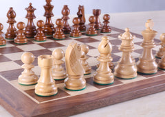 "15"" Walnut Chess Set - Chess Set - Chess-House"