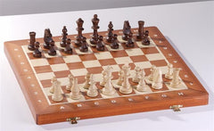 "16"" Economical Tournament and Club Wood Chess Set - Chess Set - Chess-House"
