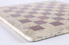 "16"" Marble Chess Board in Coral and Red Board"