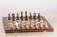 "16"" Senator Wooden Chess Set - Chess Set - Chess-House"