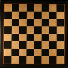 "17.25"" Black & Birdseye Maple Veneer Board - 2"" Squares Board"