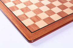 17.25'' Padauk & Maple Veneer Chess Board - Board - Chess-House