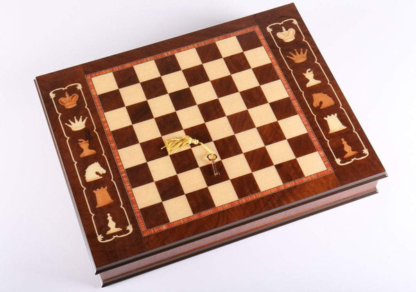 "17 3/4"" Artistic Cabinet Chess Storage Board - Board - Chess-House"