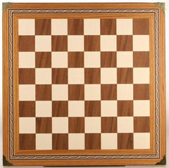 "17.5"" Mosaic Chessboard with Brass corners - Board - Chess-House"