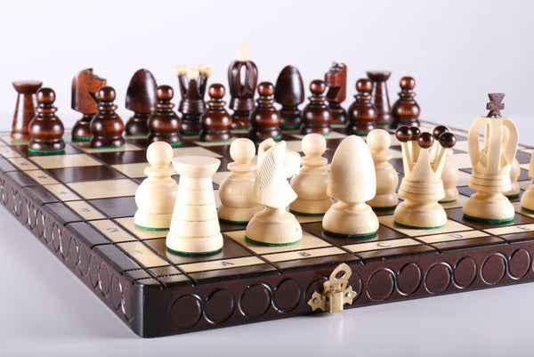 "17"" Large Kings Chess Set - Chess Set - Chess-House"