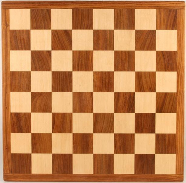 "18"" Solid Wood Chessboard, 2"" squares - Board - Chess-House"