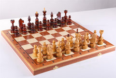 "19.5"" Debiut Wooden Chess Set - Chess Set - Chess-House"