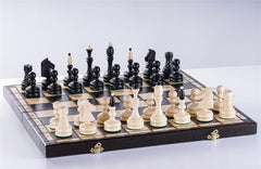 "19"" Classical Wooden Chess Set - Chess Set - Chess-House"