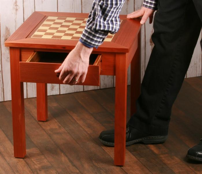 19 inch Four In One Game Table - Chess Furniture