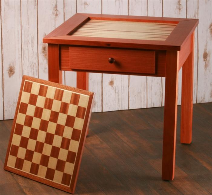 Awesome Four In One Game Table #5 - Chess House