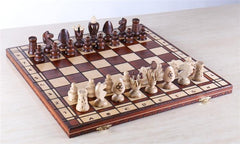 "19"" Royal King's Wood Chess Set - Chess Set - Chess-House"