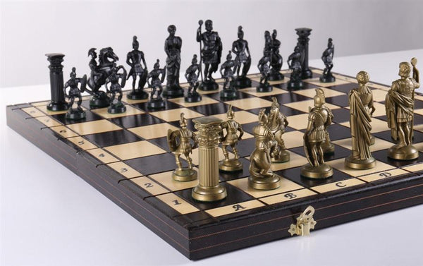 "19"" Spartan Chess Set - Chess Set - Chess-House"