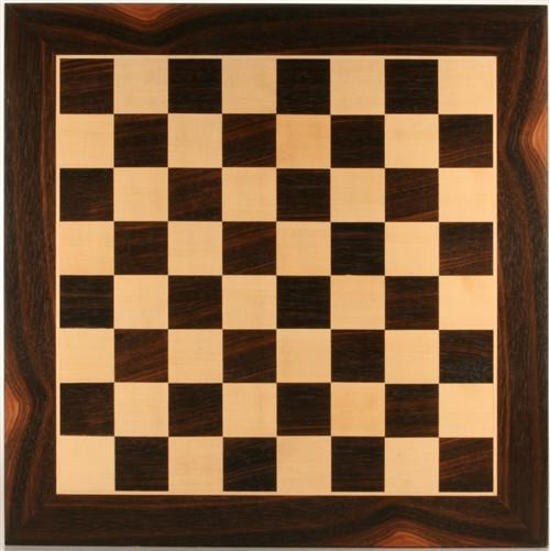 "19"" Wood Chessboard - Black Stained - Board - Chess-House"