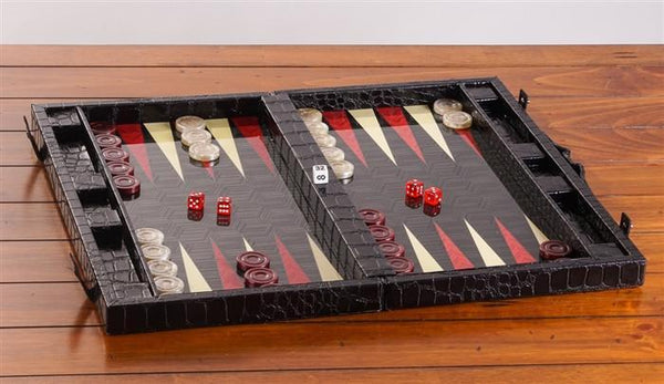 "19"" Yenigun Tavla Backgammon Set - Chess Set - Chess-House"