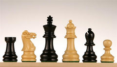 "2 3/4"" Ebonized Chess Pieces - Piece - Chess-House"