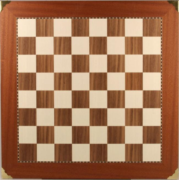 "20"" Champion Chessboard with Brass Corners - Board - Chess-House"