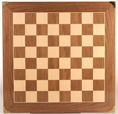 "20"" Master Chessboard with Brass Corners - Board - Chess-House"