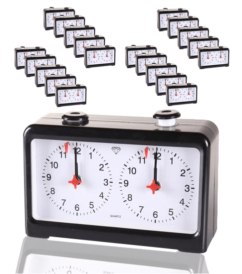 20 Standard Chess Clocks (up to 40 players) - Chess Clocks and Timers