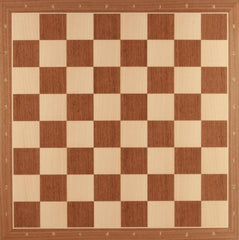 "20"" Standard Walnut Chess Board Board"