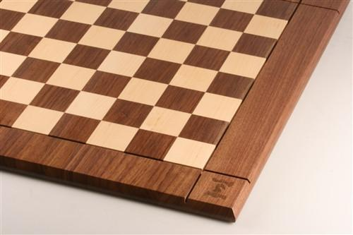 "21"" Hardwood Player's Chessboard JLP, USA (DISCOUNTED FOR IMPERFECTION) - Board - Chess-House"