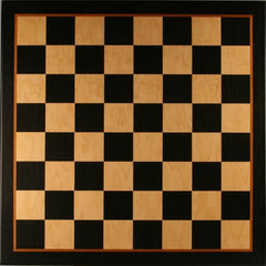 "22"" Black & Birdseye Maple Veneer Board - Board - Chess-House"