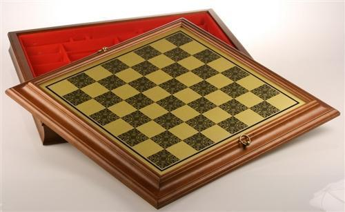 22 inch Cabinet Chess Storage Board - Chess Furniture