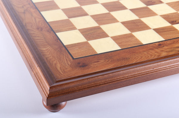"22"" Elm Root Chess Board - Board - Chess-House"