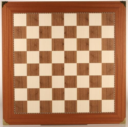 "23.5"" Champion Chessboard with Brass Corners - Board - Chess-House"