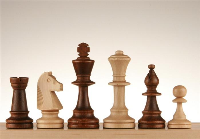 3 1/2 inch Standard Staunton chess Pieces #5 - Chess Pieces
