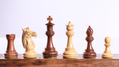 "3 1/4"" Meghdoot Acacia Chess Pieces - Piece - Chess-House"