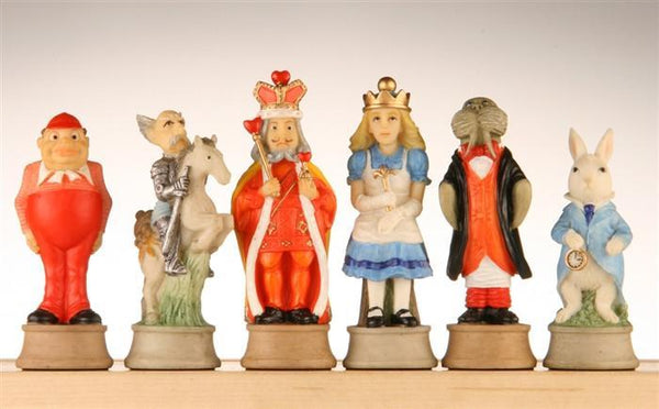 "3.25"" Alice in Wonderland Pieces - Piece - Chess-House"
