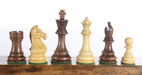 "3 3/4"" Chevalier Kikkerwood Chessmen Piece"