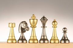 Metal Chess Pieces