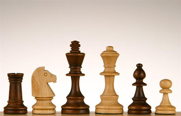 "3"" Standard Staunton chess Pieces #4 - Piece - Chess-House"
