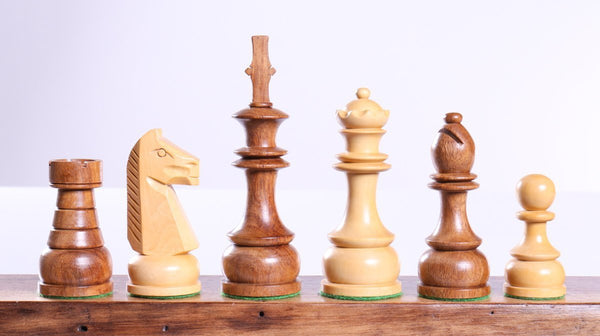"4 1/2"" Staunton Champ Chess Pieces - Piece - Chess-House"