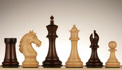 "4.25"" Rosewood Shield Chessmen - Piece - Chess-House"