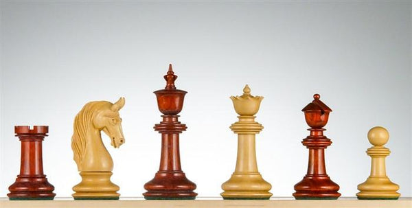 "4 5/8""  - Lis Arrabbiato Collection Padauk - Piece - Chess-House"